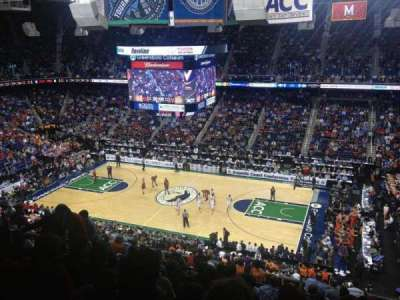 Greensboro Coliseum, Abschnitt: 213, Reihe: N, Platz: 11
