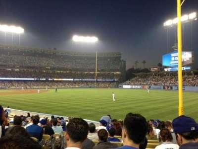 Dodger Stadium, Abschnitt: 48FD, Reihe: O, Platz: 3