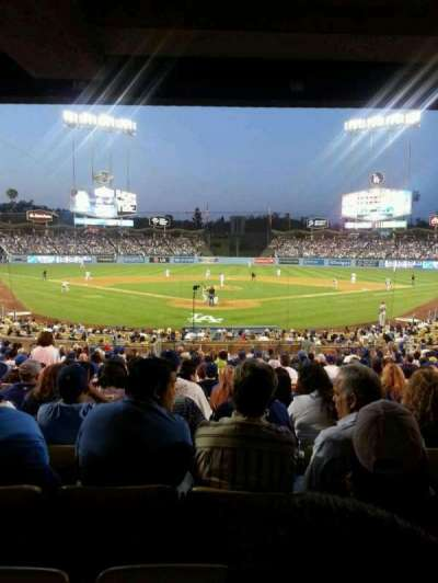 Dodger Stadium, Abschnitt: 2FD, Reihe: W, Platz: 15