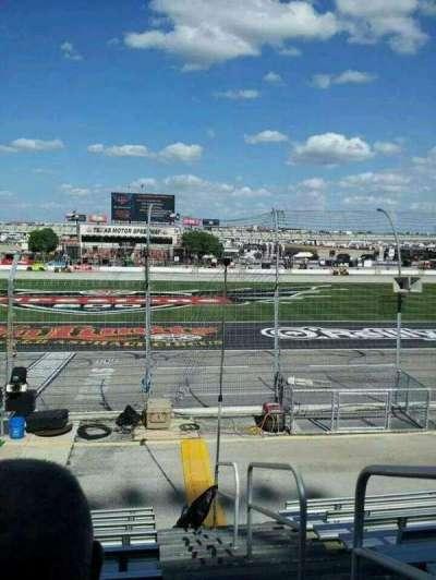 Texas Motor Speedway, Abschnitt: 101, Reihe: 9, Platz: 20