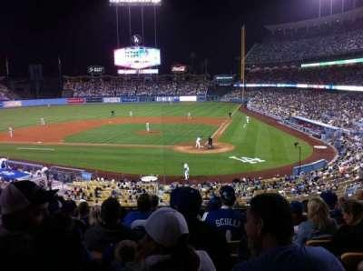 Dodger Stadium, Abschnitt: 115LG, Reihe: H, Platz: 2
