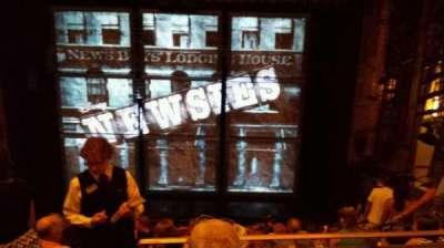 Nederlander Theatre, Abschnitt: MEZZ, Reihe: JJ, Platz: 105