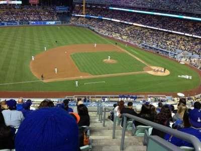 Dodger Stadium, Abschnitt: 23RS, Reihe: K, Platz: 1