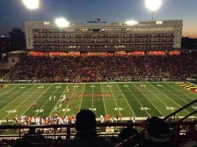 Maryland Stadium, Abschnitt: 206, Reihe: M
