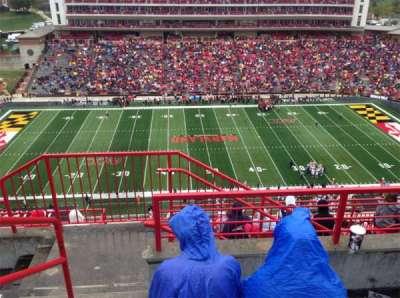 Maryland Stadium, Abschnitt: 306, Reihe: L, Platz: 1