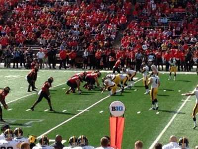 Maryland Stadium, Abschnitt: 306, Reihe: 5, Platz: 4