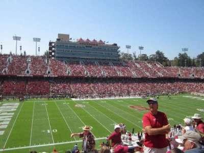 Stanford Stadium, Abschnitt: 236, Reihe: H, Platz: 15
