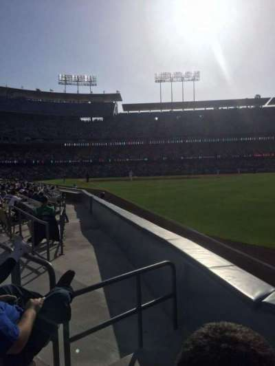 Dodger Stadium, Abschnitt: 48fd, Reihe: B, Platz: 2