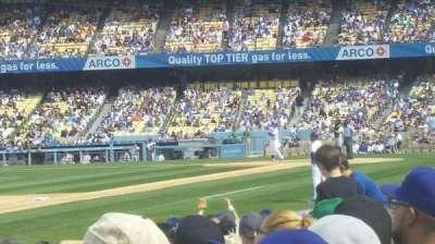 Dodger Stadium, Abschnitt: 37fd, Reihe: e, Platz: 7