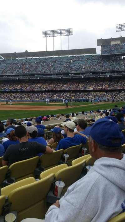 Dodger Stadium, Abschnitt: 37fd, Reihe: e, Platz: 8