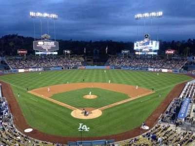 Dodger Stadium, Abschnitt: 1RS, Reihe: 1, Platz: 6