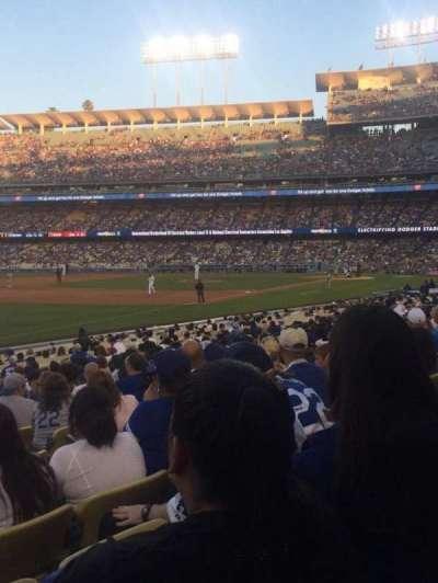 Dodger Stadium, Abschnitt: 43FD, Reihe: R, Platz: 6