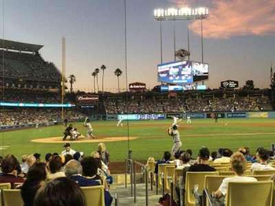 Dodger Stadium, Abschnitt: 8FD, Reihe: C, Platz: 9
