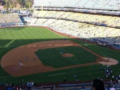 Dodger Stadium, Abschnitt: 23RS, Reihe: R, Platz: 7