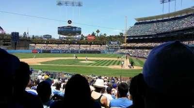 Dodger Stadium, Abschnitt: 9fd, Reihe: U, Platz: 8