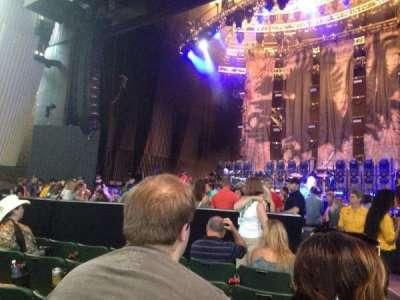 Saratoga Performing Arts Center, Abschnitt: 1, Reihe: 5, Platz: End seat
