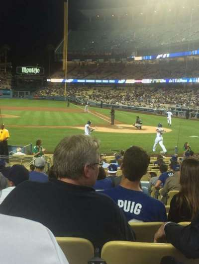 Dodger Stadium, Abschnitt: 13FD, Reihe: N, Platz: 3