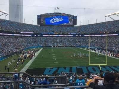 Bank of America Stadium, Abschnitt: 202, Reihe: 8, Platz: 23