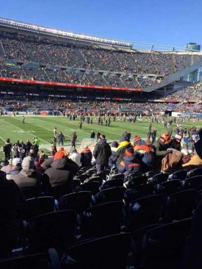 Soldier Field, Abschnitt: 112, Reihe: 14, Platz: 6