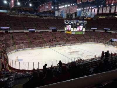 Joe Louis Arena, Abschnitt: 225A, Reihe: 13, Platz: 11