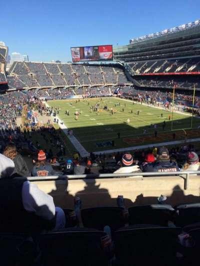 Soldier Field, Abschnitt: 325, Reihe: 4, Platz: 9