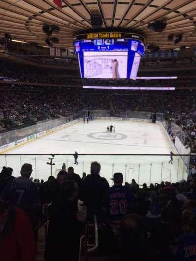 Madison Square Garden, Abschnitt: 103WC, Reihe: 20, Platz: 3