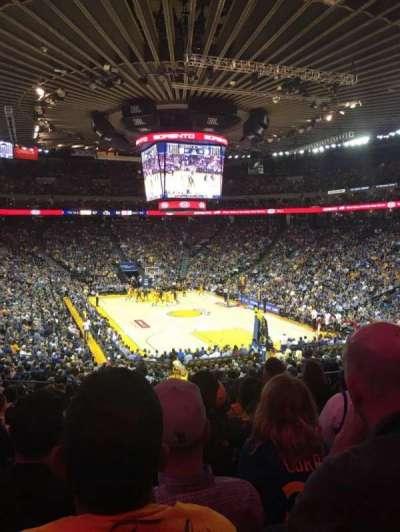 Oracle Arena, Abschnitt: 109, Reihe: 25, Platz: 8