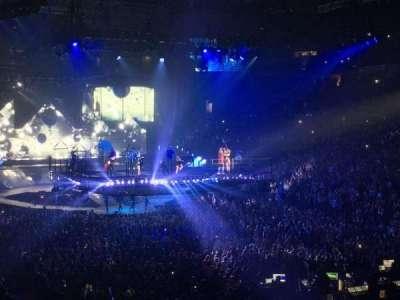 Oracle Arena, Abschnitt: 109, Reihe: 23, Platz: 18