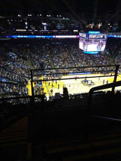 Oracle Arena, Abschnitt: 219, Reihe: 11, Platz: 1-2