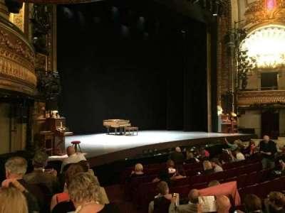 Palace Theatre (Broadway), Abschnitt: Orchestra Left, Reihe: H