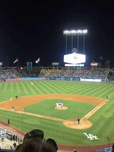 Dodger Stadium, Abschnitt: 5RS, Reihe: D, Platz: 10