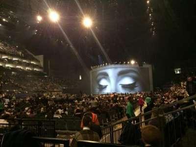 The O2 Arena, Abschnitt: 107, Reihe: BB, Platz: 237