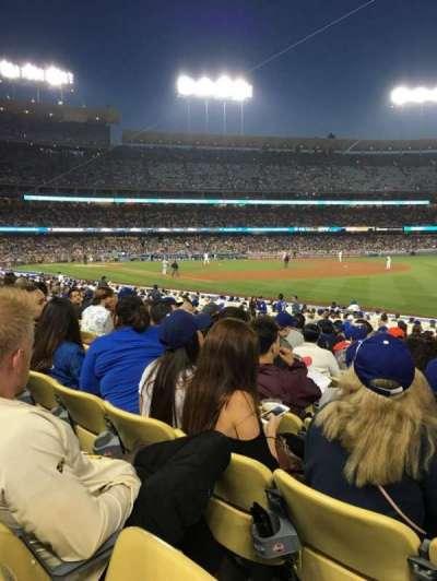 Dodger Stadium, Abschnitt: 42FD, Reihe: O, Platz: 8