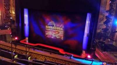 Nederlander Theatre, Abschnitt: Rear Mezz, Reihe: F, Platz: 10