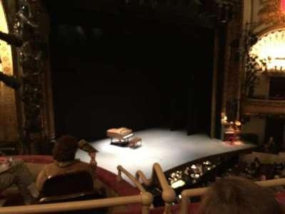 Palace Theatre (Broadway), Abschnitt: Mezzanine, Reihe: A, Platz: 23