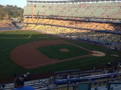 Dodger Stadium, Abschnitt: 27RS, Reihe: F, Platz: 3