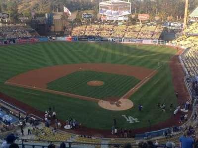Dodger Stadium, Abschnitt: 5RS, Reihe: M, Platz: 12