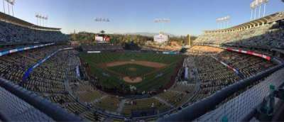Dodger Stadium, Abschnitt: 1RS, Reihe: A, Platz: 12