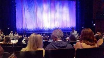 Marquis Theatre, Abschnitt: Center orchestra, Reihe: Q, Platz: 110