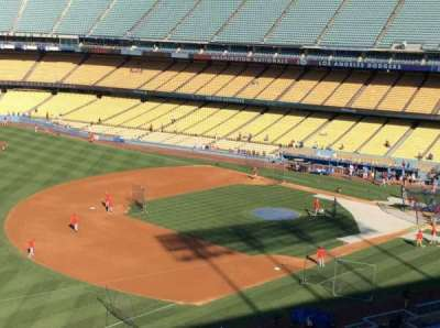 Dodger Stadium, Abschnitt: 35RS, Reihe: E, Platz: 3