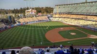 Dodger Stadium, Abschnitt: 23RS, Reihe: T, Platz: 20