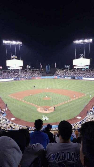 Dodger Stadium, Abschnitt: 1RS, Reihe: K, Platz: 8