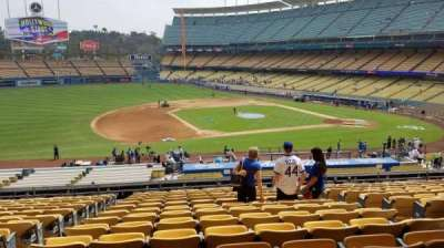 Dodger Stadium, Abschnitt: 137LG, Reihe: O, Platz: 6
