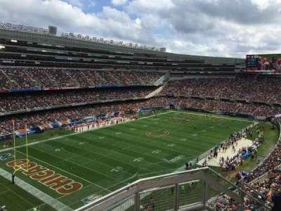 Soldier Field, Abschnitt: 445, Reihe: 3, Platz: 18