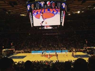 Madison Square Garden, Abschnitt: 117, Reihe: 15, Platz: 5