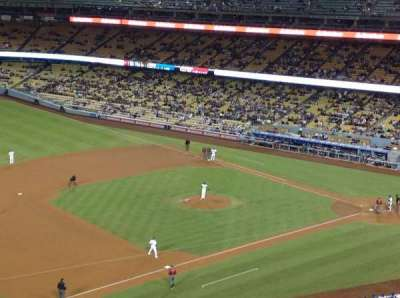 Dodger Stadium, Abschnitt: 27RS, Reihe: L, Platz: 21