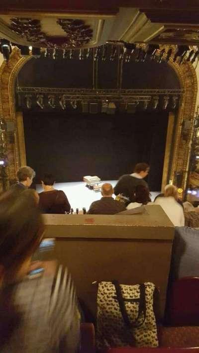 Palace Theatre (Broadway), Abschnitt: mezzanine (rear), Reihe: L, Platz: 115
