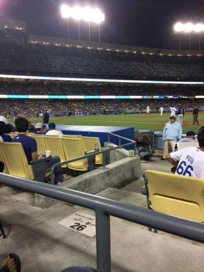 Dodger Stadium, Abschnitt: 26FD, Reihe: A, Platz: 6