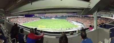 RFK Stadium, Abschnitt: M22, Reihe: 3, Platz: 4