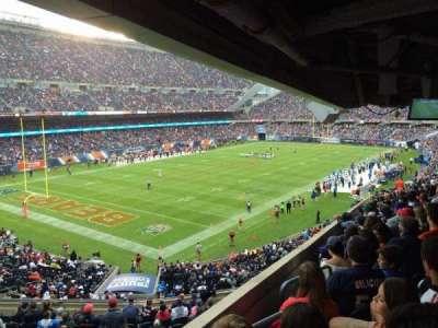 Soldier Field, Abschnitt: 216, Reihe: 19, Platz: 1